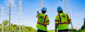 Pike transmission system workers