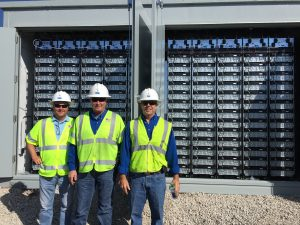 Battery Electric Storage System for Solar Generation facility installed by Pike